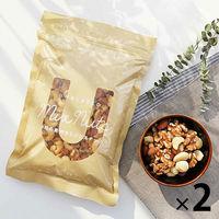 4種の素焼きミックスナッツ400g 2袋