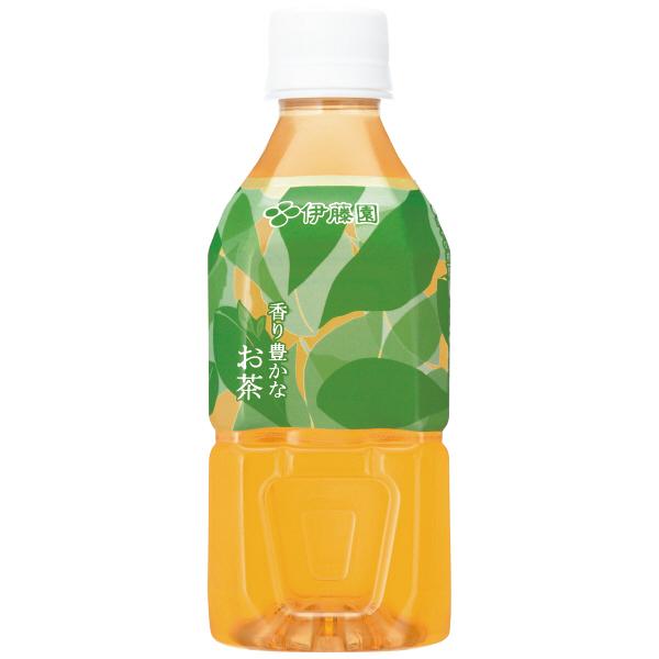 【ASKUL】伊藤園 香り豊かなお茶 350ml 1セット(48本:24本入×2箱 ...