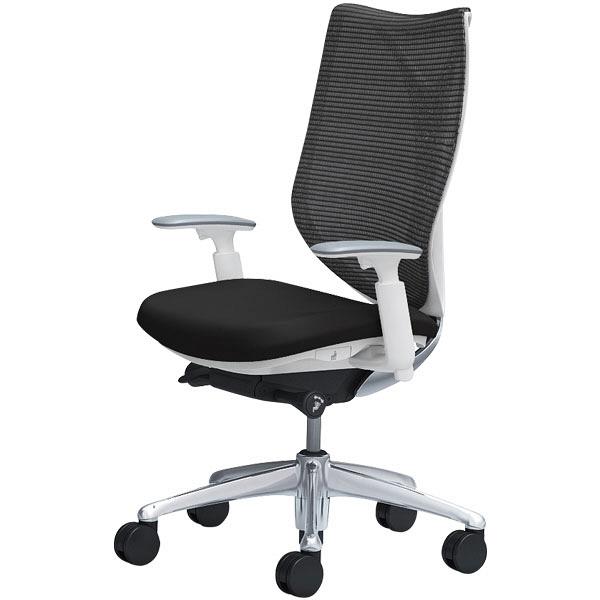 曲線美と機能美。流れるようなラインを描く優美なフォルムと、剛と柔を兼ね備えた新感覚の座り心地を実現した「サブリナ」。特徴的なリングフレームと透過性の高いメッシュ生地が、背中を心地よく包みこ込み、これまでにない上質な座り心地を提供します。「サブリナスタンダード」は座面下のレバー操作により、背もたれと座面が連動して前傾・後傾する「シンクロリクライニング」機能を実現。日常のオフィスチェアとしてビジネスパーソンの多様な働く姿勢をサポートします。