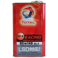 TOTAL ZZ-X RACING デフ withLSD 85W140 1セット(20本入) (直送品)