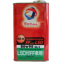 TOTAL ZZ-X TRANSMISSION FFwithLSD 80W90 1セット(20本入) (直送品)