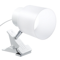 LED9Wインテリアクリップライトホワイト Y07CLLE09N14WH ヤザワコーポレーション (直送品)