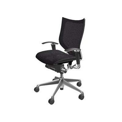 フレームのない背もたれによって人の自由な動きをサポート。人間工学に基づき、椅子に求められる全ての機能を持ちながら、お求めやすい価格帯を実現したワークチェアです。
