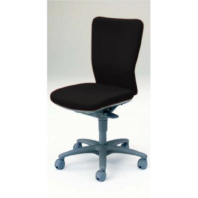 エルゴノミクス(人間工学)に基づく、快適な座り心地とフィット感。レバー類は操作し易い位置に配置。シンプルでコストパフォーマンスに優れたオカムラのOAチェア。