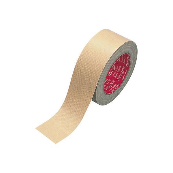 スリオンテック 布粘着テープ No.3375 0.26mm厚 50mm×25m巻 茶 1箱(30巻入) 日立マクセル