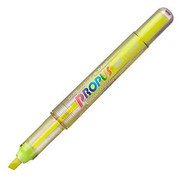三菱鉛筆(uni) 蛍光ペン プロパス・カートリッジ 本体 黄色 PUS155.2