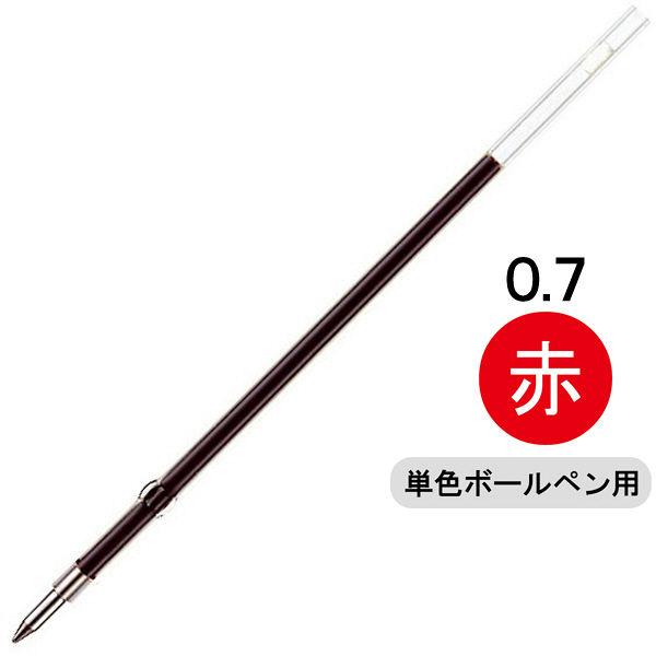 ゼブラ 油性ボールペン替芯 K-0.7芯 0.7mm 赤 1本