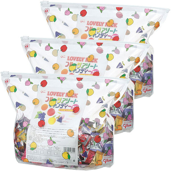 フルーツアソートキャンディ 3袋