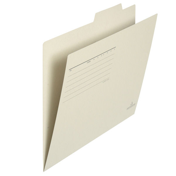 フォルダー(個別フォルダー) A4 ライトグレー FL-001IF 87833 1袋(10枚入)