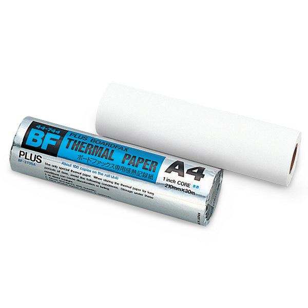 プラス 電子黒板KISSシリーズ専用感熱紙 BF-370SA 1本