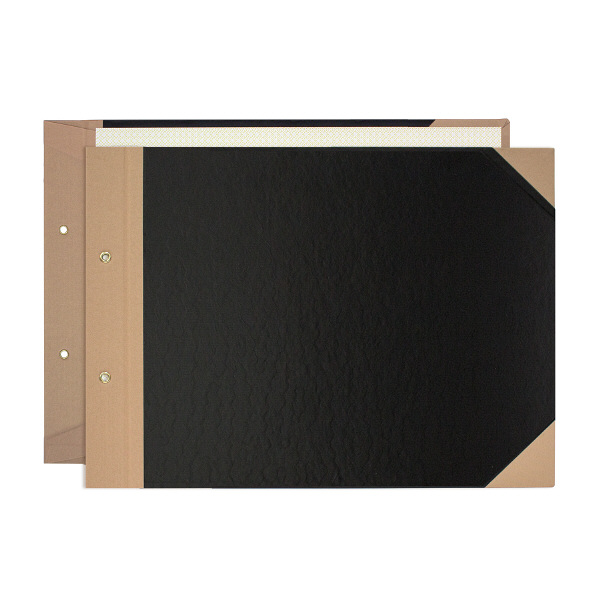 プラス とじ込表紙 A4ヨコ 220×307mm 2穴 FL-007TU 77186