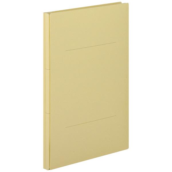 アスクル 背幅伸縮ファイル(PPラミネート表紙) A4タテ ベージュ 10冊