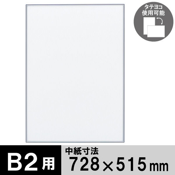 ポスターフレーム B2サイズ 軽量アルミ製 DSパネル 12枚 シルバー 1000012561 アートプリントジャパン