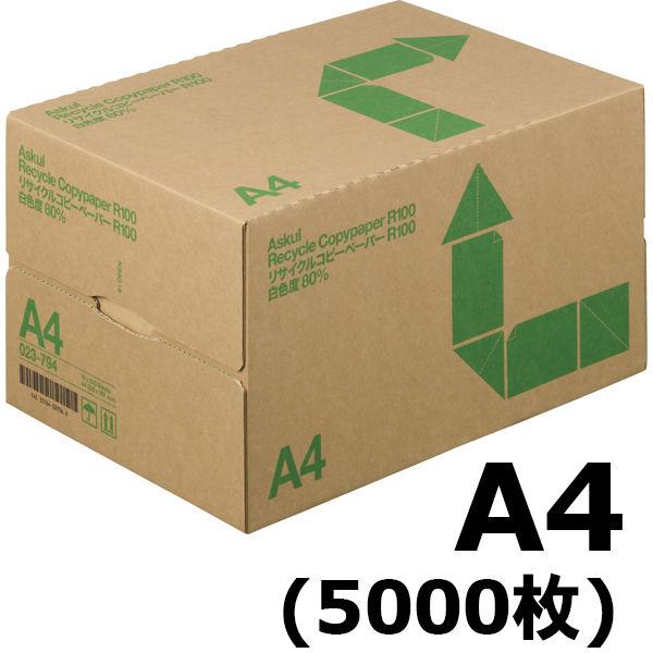 R100 白色度80% A4 1箱