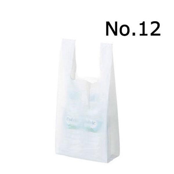 レジ袋 乳白 12号 3000枚