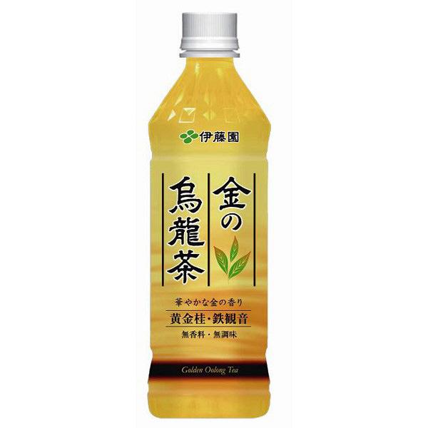 金の烏龍茶 500ml 24本