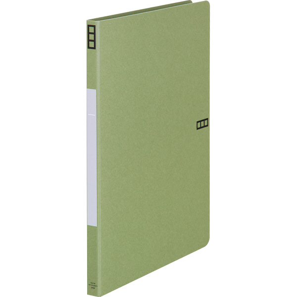 Z式ファイル シブイロ A4タテ 緑