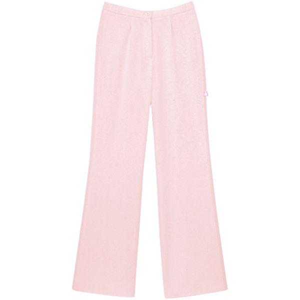 セミブーツカットパンツ ピンク M