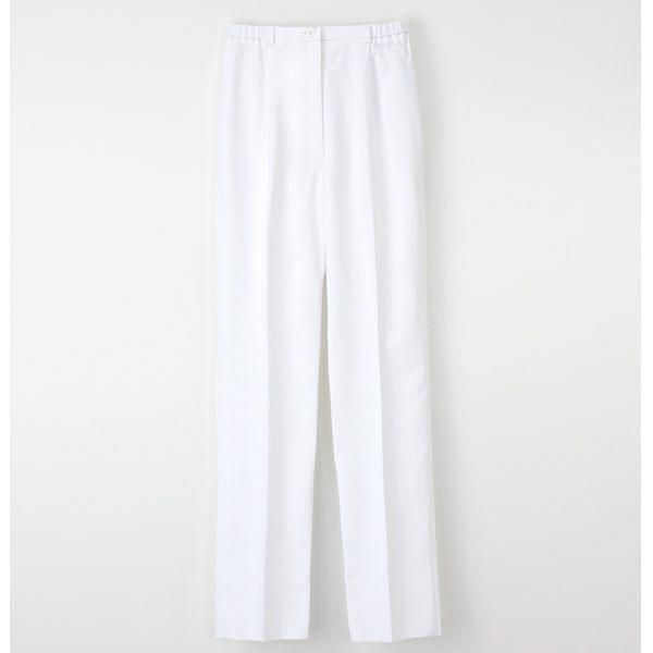 ナガイレーベン パンツ ホワイト M FE-4503 (取寄品)