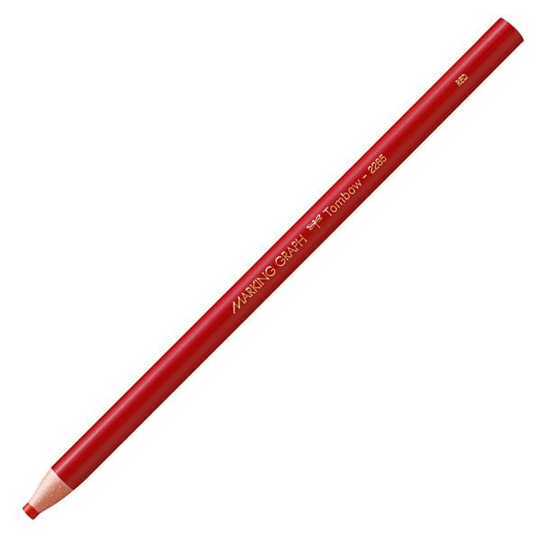 マーキンググラフ赤 1ダース トンボ鉛筆