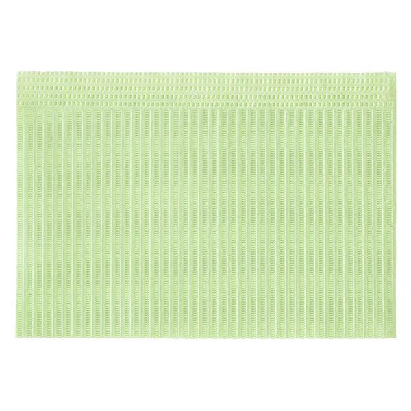 メディコムジャパン ディステック 紙エプロン グリーン 1箱(500枚入)