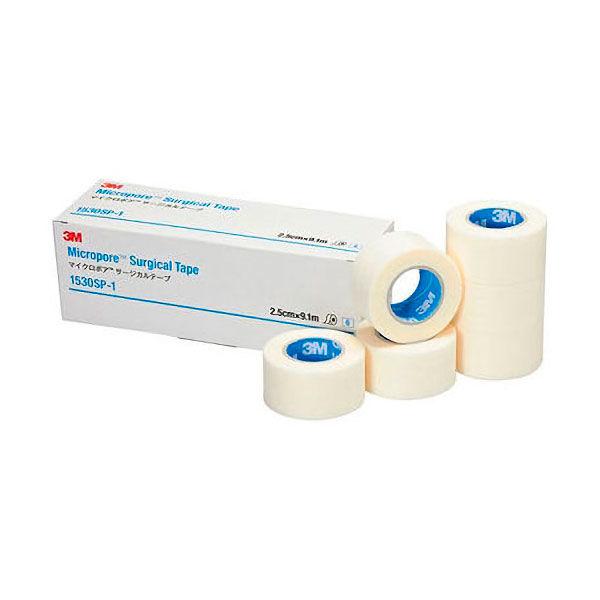 スリーエム ジャパン マイクロポアTM サージカルテープ 25mm×9.1m 1530SP-1 1箱(6巻入)