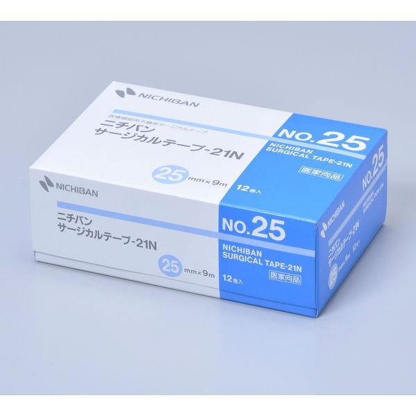 ニチバン サージカルテープ-21N 25mm×9m STN25 1箱(12巻入)