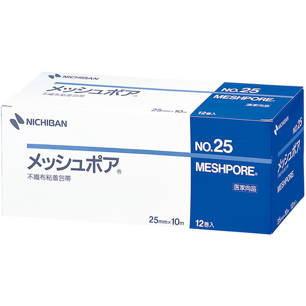 ニチバン メッシュポア(R) 2.5cm×10m MSP25