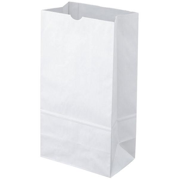 角底紙袋 白 4号 200枚