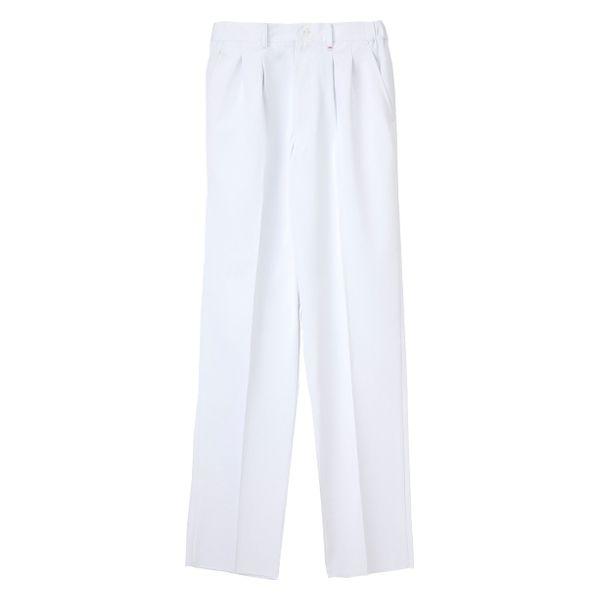 ナガイレーベン 男子パンツ HO-1953 ホワイト LL (取寄品)