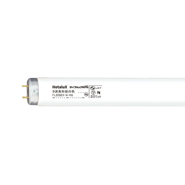 NEC ライフルックNHG 直管スタータ形 20W 昼白色 FL20SEXNHG 25本入 (取寄品)