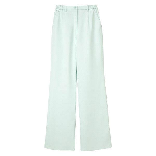 ナガイレーベン 女子パンツ ナースパンツ 医療白衣 ペールグリーン S CA-1703 (取寄品)