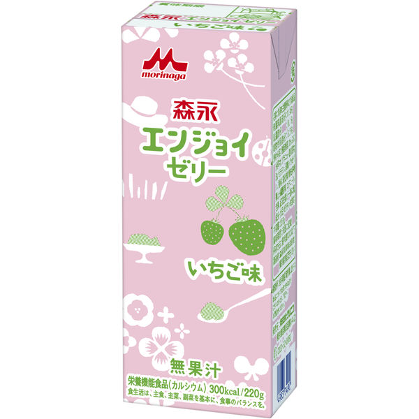 クリニコ エンジョイゼリー 苺 1箱(30個入) 0635905  (直送品)