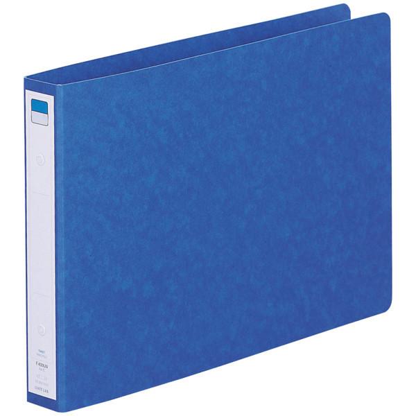 リヒトラブ リングファイル A4ヨコ 背幅35mm 藍 F833UN-5 1箱(10冊入)