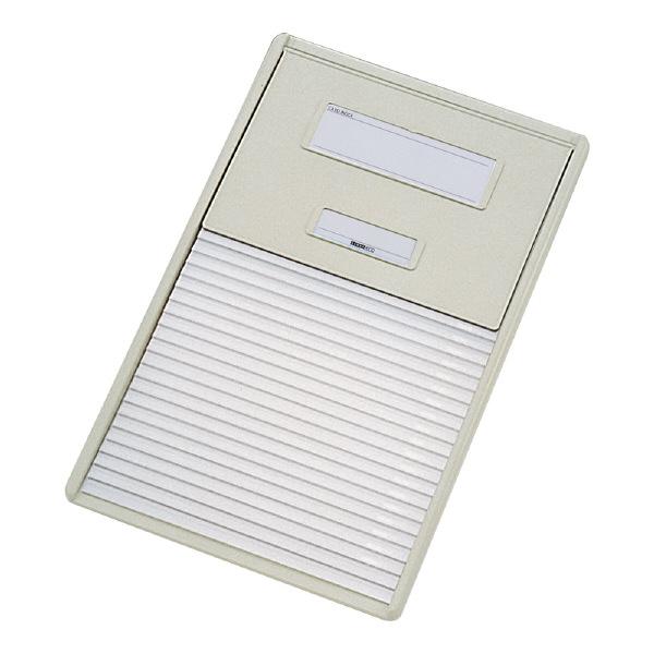リヒトラブ カードインデックス(カーデックス) A4 ポケット数/21 オフホワイト HC112C-1 (直送品)