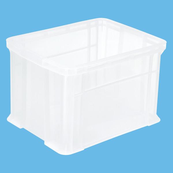 ATコンテナ 40L クリアー 1セット(40個:5個入×8箱) アスクル