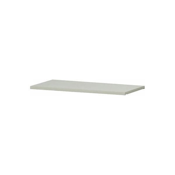 Ceha A4スチール書庫 追加棚板 シャッター扉タイプ専用 ライトグレー 1台 (直送品)
