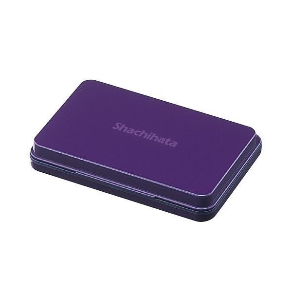 シヤチハタ スタンプ台 中形 紫 HGN-2-V (直送品)