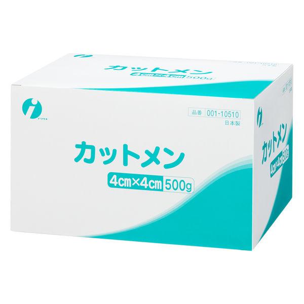 イワツキ カットメン 4×4cm 001-10510 1箱(500g入)