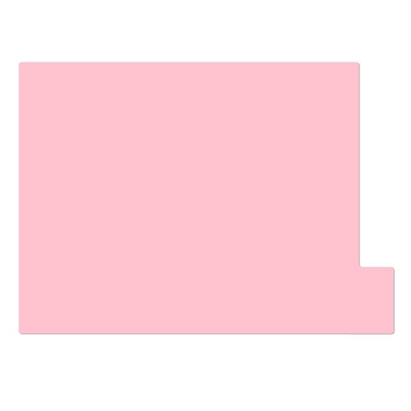 日本ホップス 仕切りガイド ラテラル A4 ピンク DG-A4L08 1袋(10枚入) (直送品)