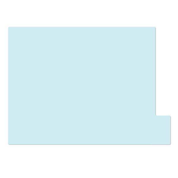 日本ホップス 仕切りガイド ラテラル A4 パステルブルー DG-A4L10 1袋(10枚入) (直送品)