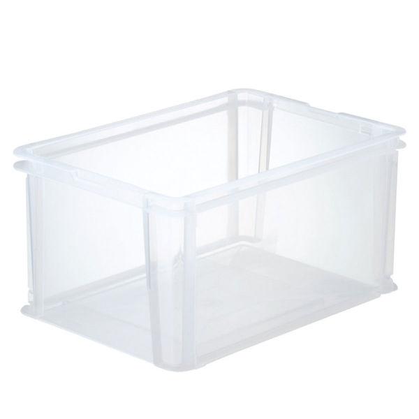 アイリスオーヤマ ファイルコンテナ(A4ワイド) 40L クリア FRC-40 1箱(6個入)