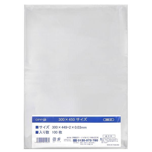 OPP袋 300×450mm 1000枚
