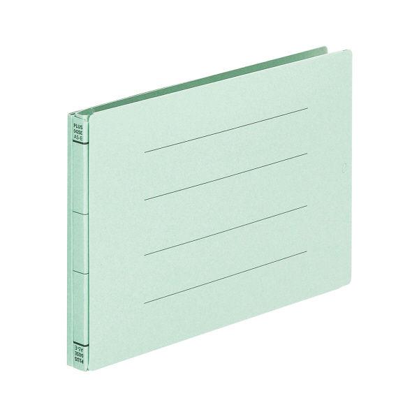 プラス 背幅伸縮フラット セノバスエコノミー A5ヨコ ブルー 88325 1箱(10冊入)