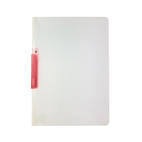 セキセイ クリップインファイル A4タテ ピンク 1箱(100冊:20冊入×5箱)