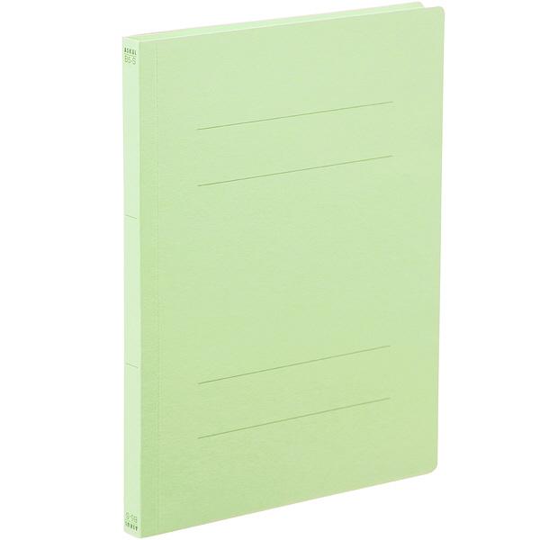 アスクル フラットファイル B5タテ グリーン エコノミータイプ 30冊