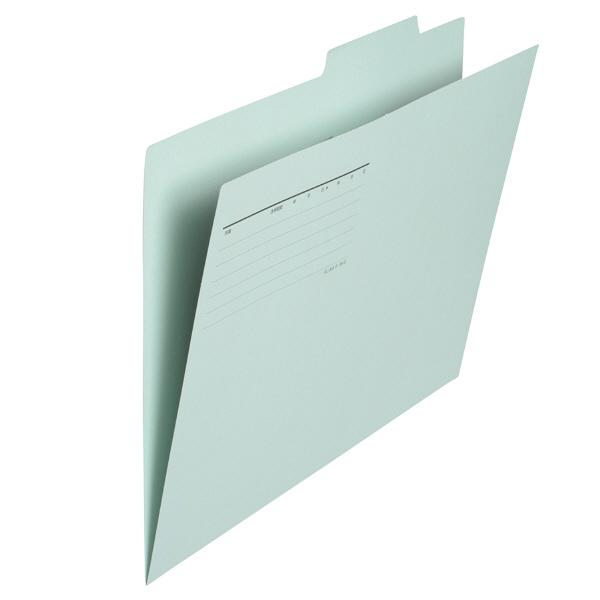プラス 個別フォルダー B4 ブルー FL-068IF 87435 1箱(100枚:10枚入×10袋)