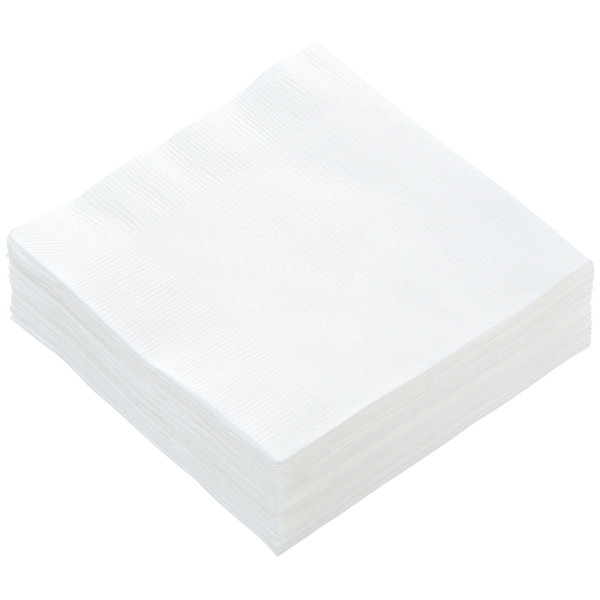 4つ折りナプキン白無地 (10000枚)