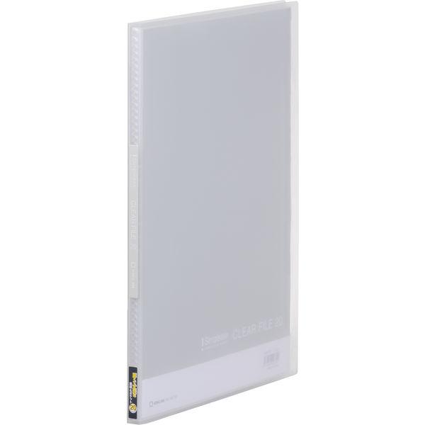 キングジム シンプリーズ クリアーファイル(透明) 透明 A4タテ 20ポケット 186TSPトウ 1セット(30冊:10冊入×3箱)