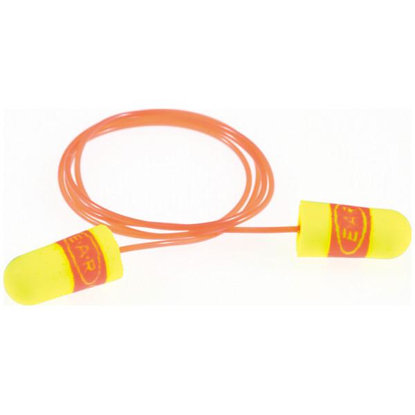 スリーエム ジャパン E-A-Rsoftスーパーフィット耳栓ひもあり 黄 311-1254 1箱(200組:1組入×200袋)